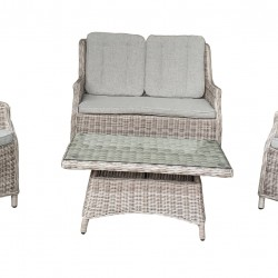 1+1+2 -Outdoor seating set with table