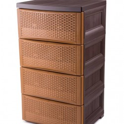 Rattan Drawers 4 layers